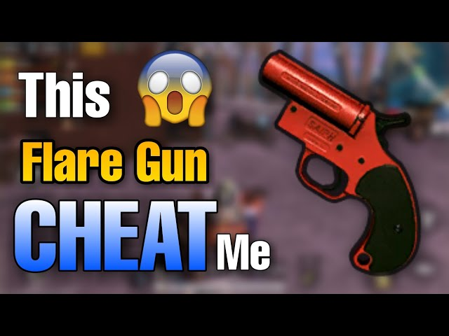 Pubg Mobile : This flare gun cheat me in game, Pubgm funny moment