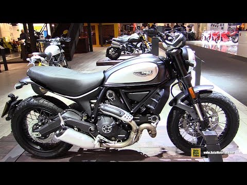 2018 Ducati Scrambler Street Classic - Walkaround - 2017 EICMA Milan Motorcycle Exhibition
