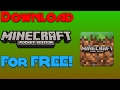 How to Download Minecraft: PE for FREE! | Downloading MCPE 1.0.8 [ANDROID] Free! | MCPE 1.0.8 APK