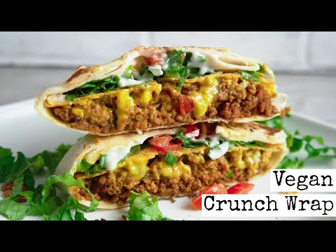 Vegan Crunch Wrap |  Taco Bell