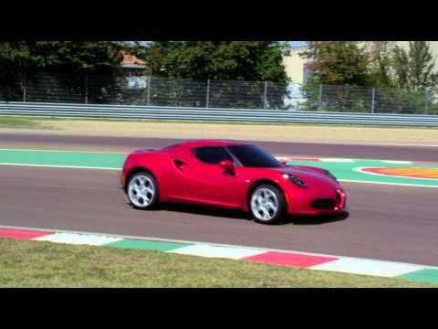 L'Alfa Romeo 4C sur piste !