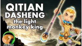 SUMMONERS WAR : Qitian Dasheng the Light Monkey King - Gameplay Spotlight