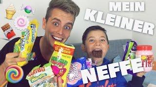 Mein kleiner Neffe Max ➤ WIR TESTEN SÜßIGKEITEN | Julienco