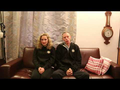 A 'State of the Run Address' by Madras College teacher, Donald Grewar and his student, Brynja Duthie