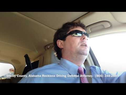 Shelby County, Alabama Reckless Driving Attorney - Lawyer for Shelby County, AL Reckless Driving