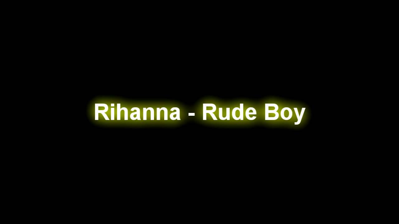 Rihanna Rude Boy Hq Song With Download Link