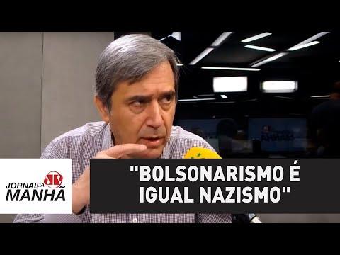 """""""Bolsonarismo é igual nazismo"""", diz Villa sobre casos de fake news contra Marielle Franco"""