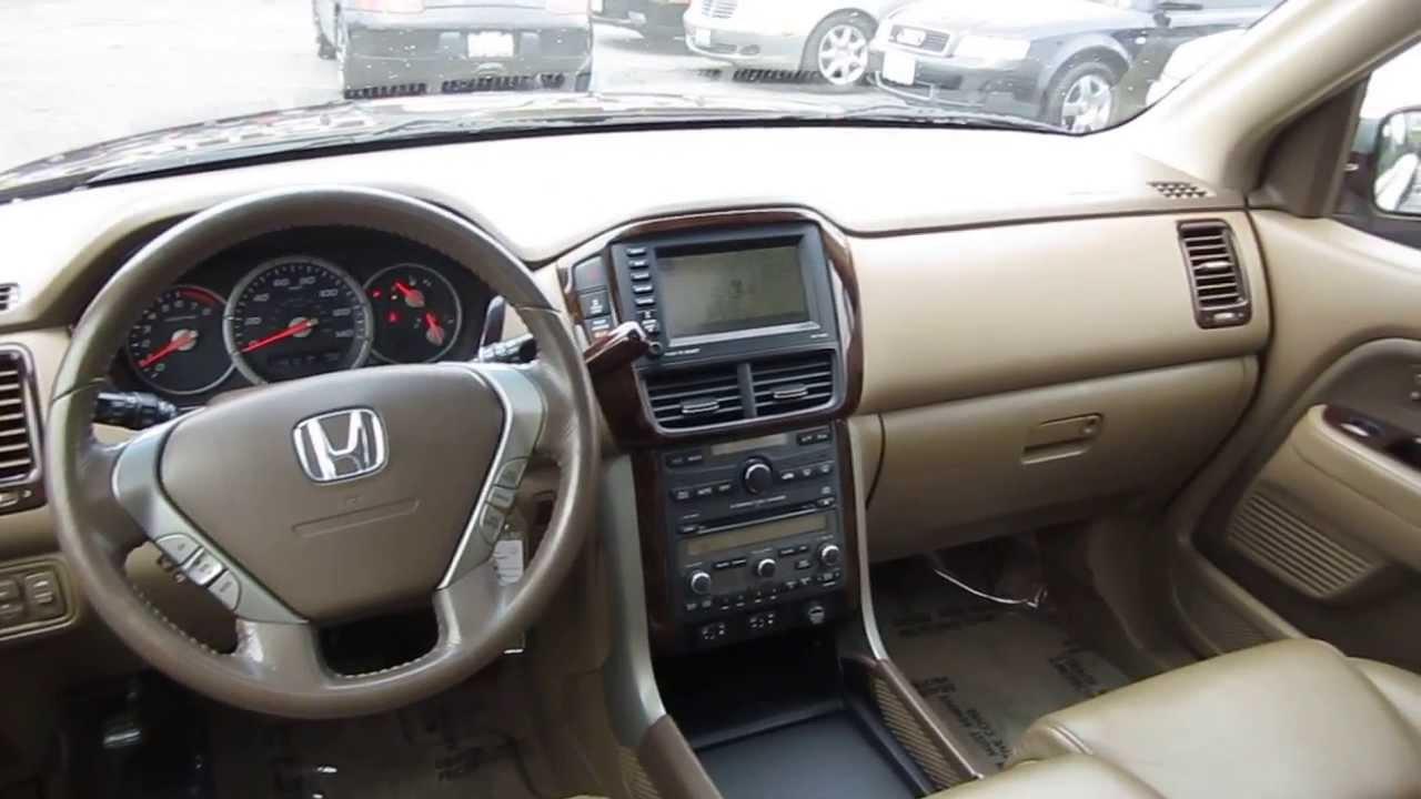2007 Honda Pilot, Maroon - STOCK# L530934 - Interior - YouTube