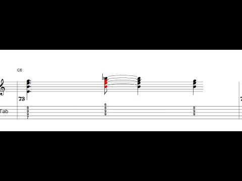 Begin the beguine - Jazz guitar standard - Guitar tabs