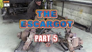 The Escargot - RV/Camper Car Transporter Conversion - Part 5