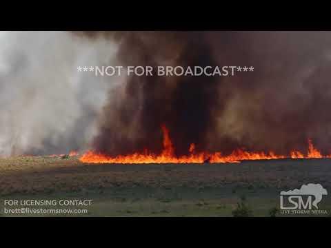 5-6-18, Incredible Fire-nadoes, Burns Flat OK