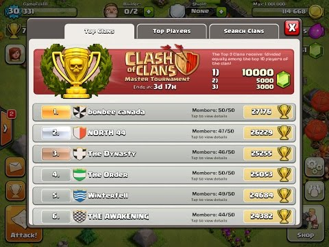 Clash Of Clans - How to Run a Successful Clan with loyal/active members