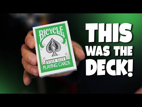 How THIS Deck of Cards Changed ALL Playing Cards!