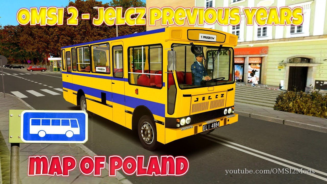 OMSI 2 - JELCZ BUS Previous Years - Map of POLAND