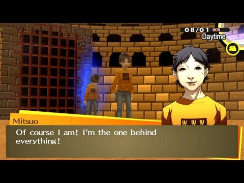 [HD] [PS Vita] Persona 4 Golden - Boss: Shadow Mitsuo