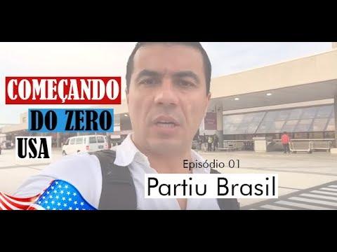 Começando do Zero - USA - Temporada 01 - Episódio 01 - Partiu Brasil - Luis Miranda USA