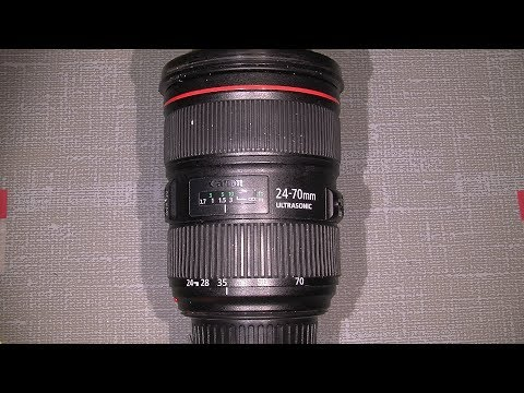 Zoom problem in Canon zoom lens EF 24-70 1:2.8L II USM