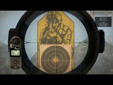Sniper Rifle Precision Analysis (Remington M24A2)