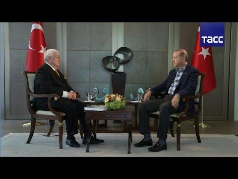 Интервью президента Турции