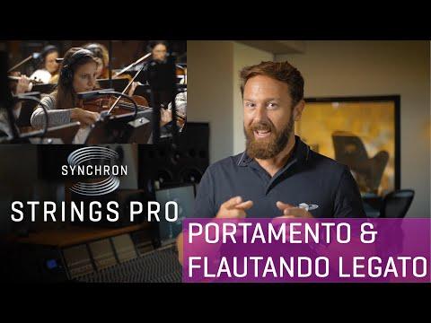 Synchron Strings Pro Walkthrough Part 2: Portamento / Flautando Legato