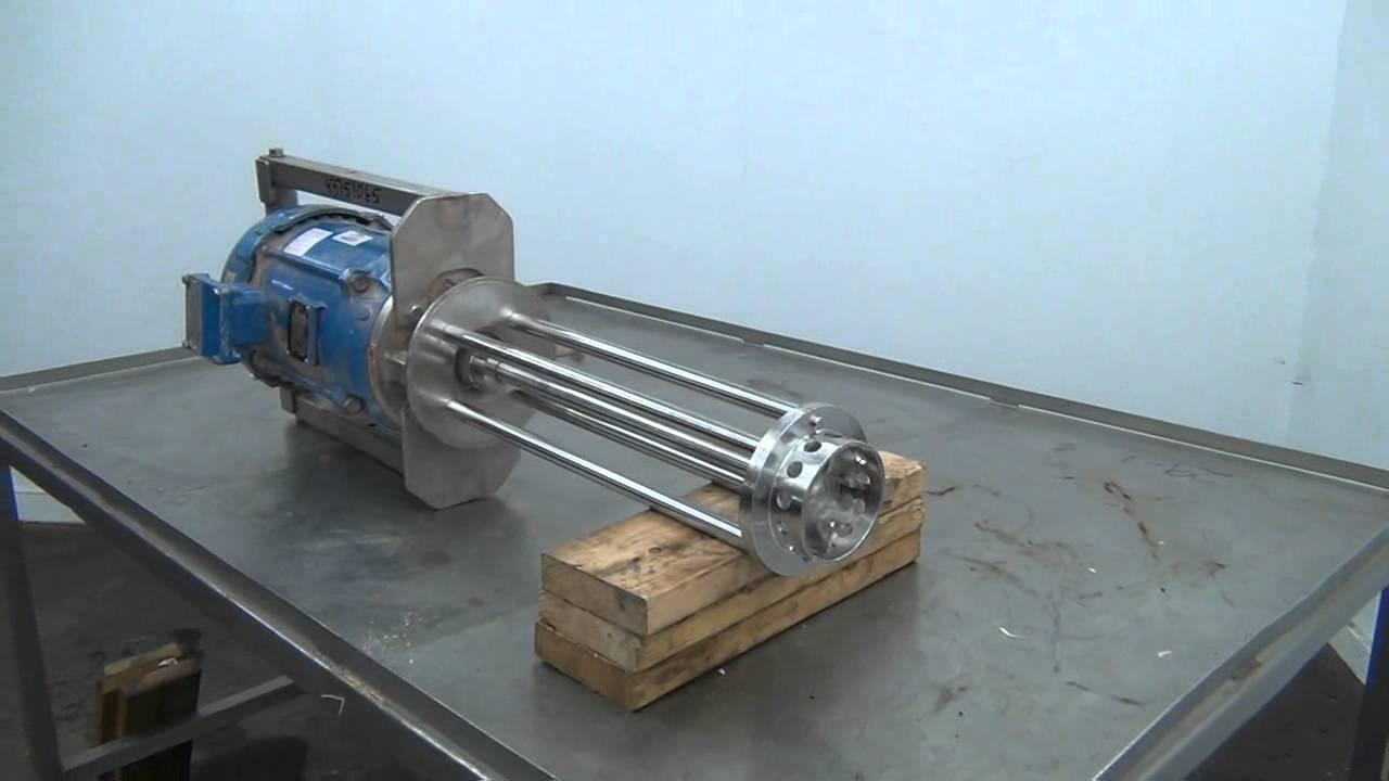 Silverson mixer emulsifier