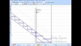 Как самому сделать лестницу.Расчёт и  чертежи. Ч 5.(Как сделать лестницу. Первым делом нужно сделать правильный расчёт и чертёж деталей, чтобы не пришлось..., 2014-01-31T18:51:04.000Z)