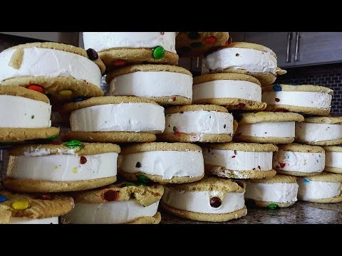 25 M&M Ice Cream Sandwiches (6,000+ calories)