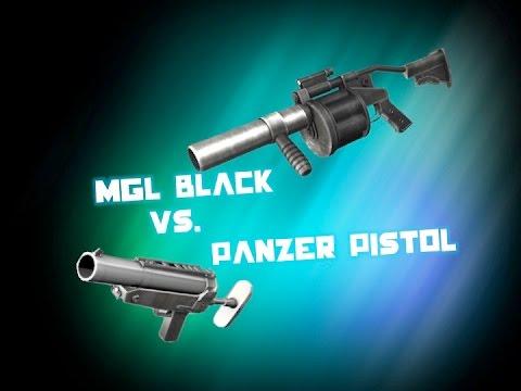 Red Crucible Firestorm - MGL vs Panzer Pistol Review