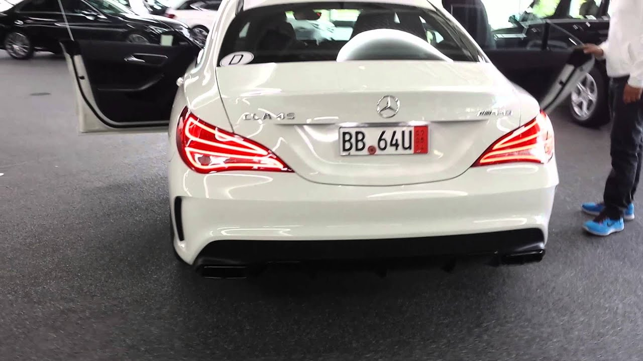 Mercedes CLA 45 AMG European Delivery