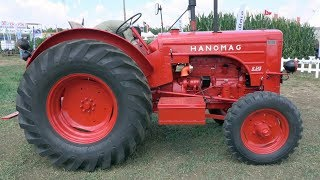 Eski Traktörlerin Sesi Daha Güzelmiş - 1961 HANOMAG R.545