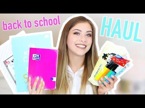 BACK TO SCHOOL 2017 ❀ HAUL PRZYBORY SZKOLNE