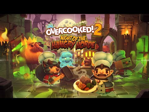 Overcooked 2: Night of the Hangry Horde makes you feed the undead | PC Gamer
