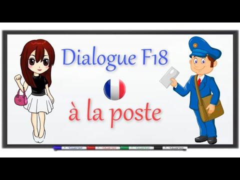 parler le français facilement : à la poste