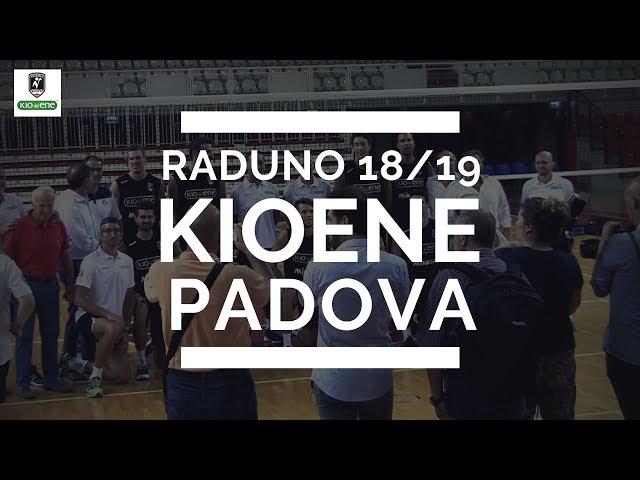 Volley, primo giorno di scuola per la Kioene Padova 2018/19