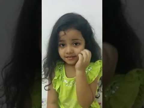 Little Girl speak all India's states with capitals