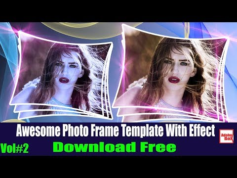 Awesome Photo Frame Templates For Photoshop Download Free Vol#2 [Adobe BoX] 2018