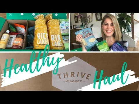 HEALTHY THRIVE MARKET HAUL!   Vegan, Organic  