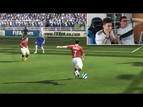 LONG SHOTS DESDE FIFA 94 AL FIFA 18 (REACCIONANDO CON FRAN) [ByDiegoX10]
