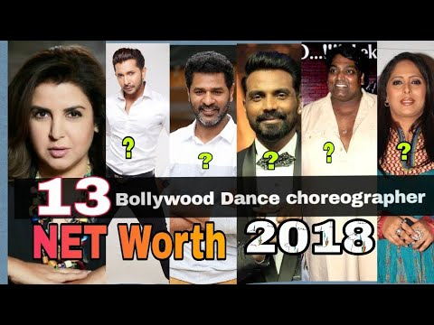Download 13 Most dance Choreographers of Bollywood and Their Net Worth 2018