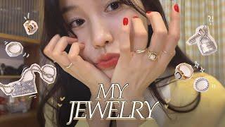 My Jewelry ✨| 로코의 반지&목걸이 | 자주 하게 되는 악세사리 [로코베리 rocoberry…