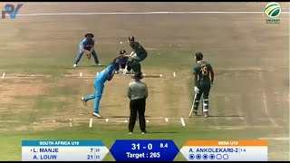 Quadrangular Under-19 Series | SA vs India