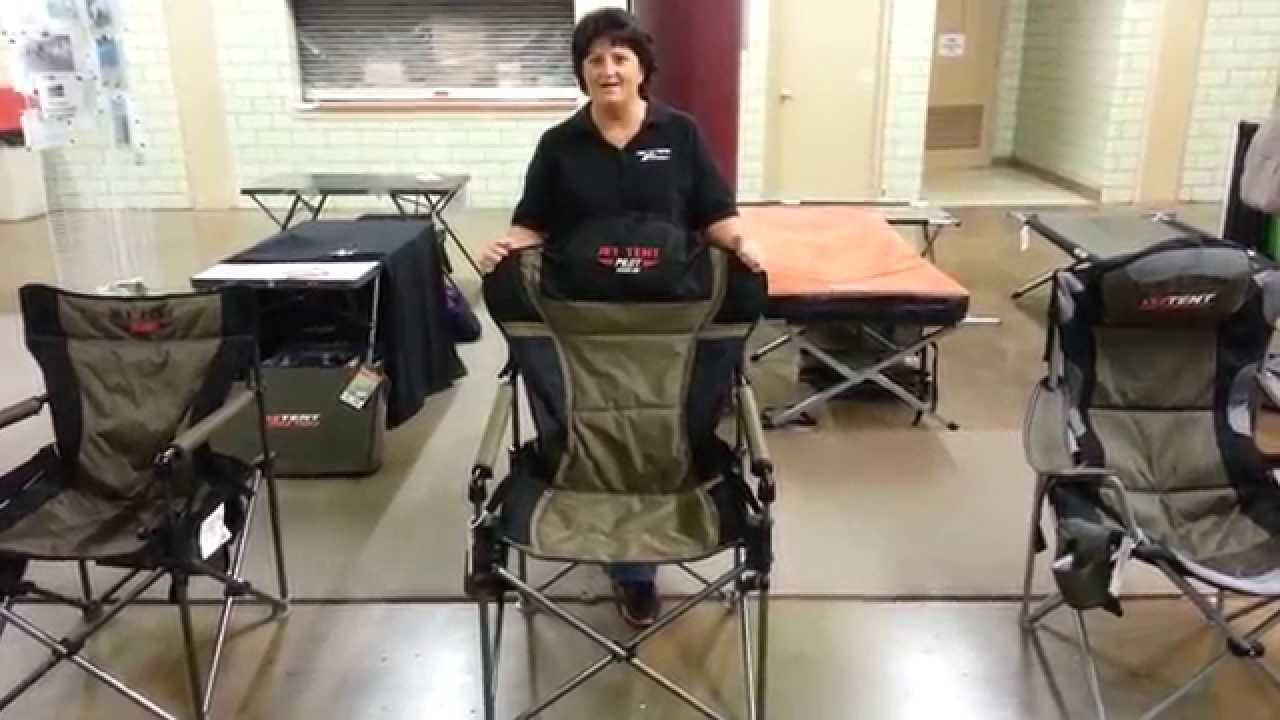 Features of the Jet Tent Pilot Chair  sc 1 st  YouTube & Features of the Jet Tent Pilot Chair - YouTube