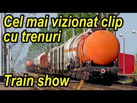 58 de trenuri la Dirza pe M1000 - train megacompilation - Zug super-parade