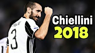 Giorgio Chiellini - The Warrior - Defensive Skills 2018 HD