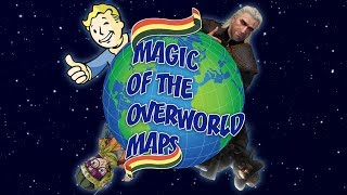 Magic of the overworld maps | Gamer talk on game design