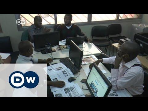 Angola: Freie Presse in Schwierigkeiten | DW Deutsch