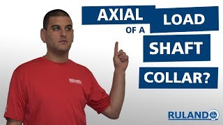 What Is The Axial Load Of A Shaft Collar?