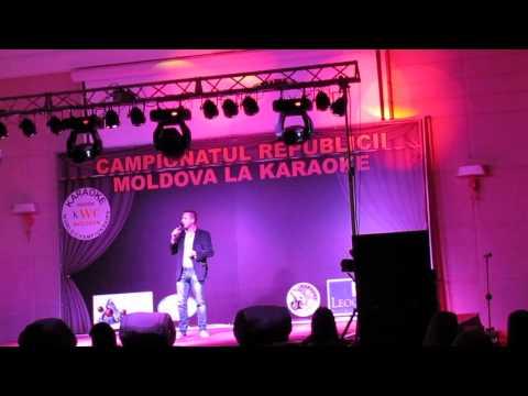 Dima Doni la Campionatul Republicii Moldova la Karaoke