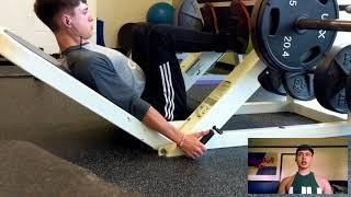 Quad focused leg day // Vlog 3