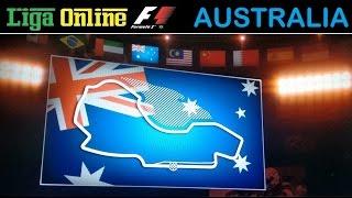 LIGA ONLINE F1 - PILOTOS - CAT. BASE - GP AUSTRÁLIA - 20/03/2016 ÀS 18:00